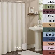 anti mildew vinyl shower curtain liner