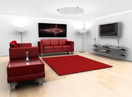 Stylishly Decorated Living Room Picture 2
