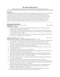 Test Manager Resume Template qa manager resume samples Enderrealtyparkco 1