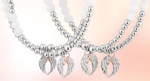 as with every exquisite clogau piece the free angel wing heart stretch bracelet contains rare welsh gold the gold of royalty for over 100 years