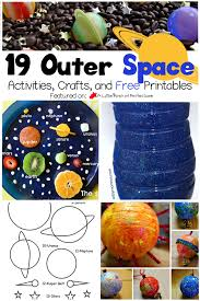 19 Exploring Outer Space Activities, Crafts, and Printables for Kids -