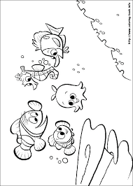 Nemo Coloring Book Baby Mickey Coloring Pages Coloring Pages Free