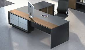 furniture office desks. u0027maryu0027 85 ft office table in laminate u0026 leather furniture desks