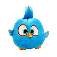 Angry Birds Movie Blue Hatchling Plush, 5