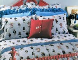 queen king boy teddy bear comforter set