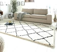 large floor rugs living room allure hash cream black wool australia nz