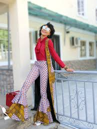 African Trousers Designs Ankara Flare Trousers How To Wear Ankara Trousers