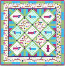 Dog Quilt Patterns Extraordinary Quilt Inspiration Free Pattern Day Cat And Dog Quilts