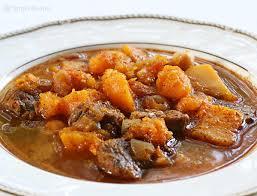 Lamb Stew Recipe Spicy Lamb Stew With Butternut Squash Recipe Simplyrecipescom