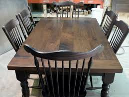 Distressed Wood Kitchen Table Black Distressed Dining Table Home And Furniture