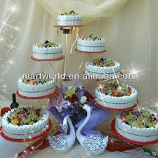 2019 New Design Crystal Cake Stand 8 Tiers Wedding Cake Stand