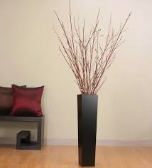 Modern Glass Vases Popular Round White Modern Glass Within Floor Vase Decorating