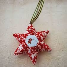 Paper Pieced Holiday Star Ornament | FaveQuilts.com & Paper Pieced Holiday Star Ornament Adamdwight.com