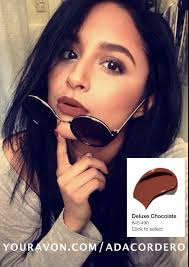 SHOP WITH ADA — Wearing: Deluxe Chocolate ULTRA COLOR Lipstick...