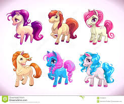 funny cartoon horse characters