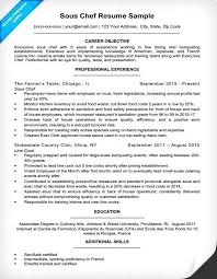 Chef Resume Sample Classy Executive Sous Chef Resume Samples Sample Pastry Australia Best