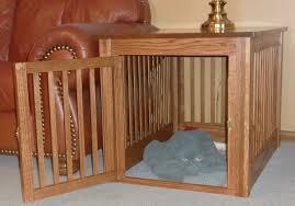 wooden dog crate furniture. Wood Dog Crate Plans Wooden Furniture L