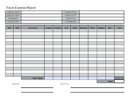 Business Trip Report Sample Doc. Sample Expense Report Forms ...