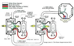 wiring a fan and light to two switches how to wire ceiling fan and light separately
