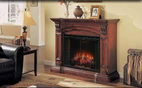 Electric Peninsula Fireplace On CustomFireplace Quality Electric Amish Electric Fireplace