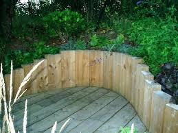 retaining walls wooden wooden retaining walls design wood landscaping wall wood retaining wall design photo wood