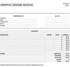 Customer Invoice Template Excel Magnificent Design Invoice Template Metalrus