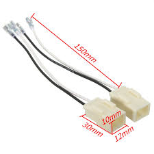 popular car speaker wire connectors buy cheap car speaker wire Car Speaker Wire Adapter 2pcs white car speaker connector harness adapter wiring plastic quick and easy installation acoustic components( car speaker wire connectors adapters