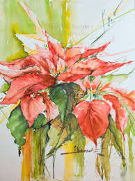 Veredit Art Christmas Poinsettia In 2019 Blumen