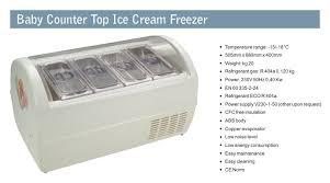 baby counter top ice cream freezer