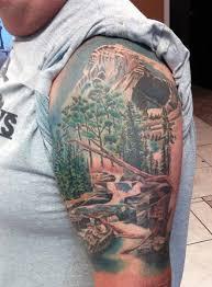 40 Hory Tattoo Vzory Pro Muže Vyšplhat Nejvyšší Vrchol