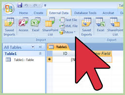 Microsoft Word Update All Fields How To Import Excel Into Access 8 Steps With Pictures Wikihow