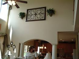 decorating vaulted walls wall decor awesome with for how to decorate a large ceilings designs 3