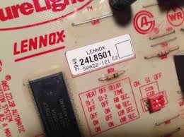 lennox surelight control board. 24l8501 white rodgers 50a62-121 lennox furnace control circuit board surelight | what\u0027s it worth d