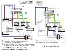heat pump thermostat wiring diagram readingrat net for for with heat pump thermostat wiring color code at Heat Pump Thermostat Wiring Diagrams