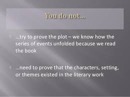 how to write a literary essay  literary work 4