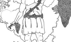 Cool Greek Gods Coloring Pages God Dionysus Kleurplaat Free