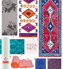 Patterned Yoga Mats
