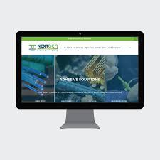 Nextgen Web Design Nextgen Adhesives Grey Barn Media Squarespace Website