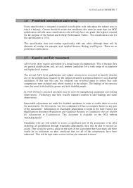 GCE Chemistry Specification 2009