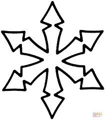 Small Picture Snowflake coloring page Free Printable Coloring Pages