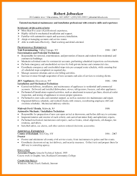 12 Apartment Maintenance Resume Job Apply Form