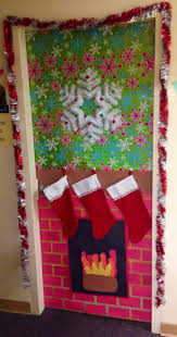 Christmas Dorm Door Decorations Because I Saw It On