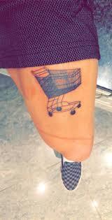 Shopping Tattoos Designs Shopping Cart Tattoo