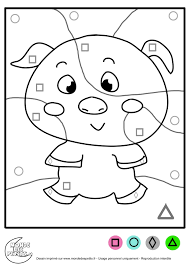 Coloriage Magique Maternelle Moyenne Section Collection Int Rieur