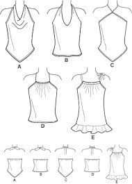 Halter Top Sewing Pattern