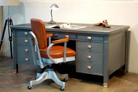 retro office desks. Vintage Steel Tanker Desk And Chair With Refinished Look. Retro Office Desks C