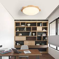Led Deckenleuchte Holz Schlafzimmer Lampe Lampe Lampe Dimmbar