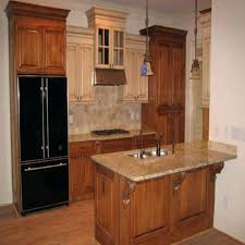 enchanting painting over stained cabinets over dark stained kitchen cabinets hickory furniture and white wooden pantry