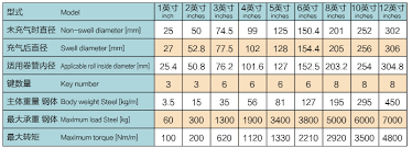 Shaft Packing Size Chart Good Wholesale Vendors Automatic Rotary Blister Packing