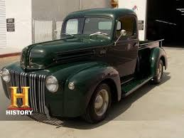 Counting Cars: Restored '42 Ford Pickup | History - YouTube